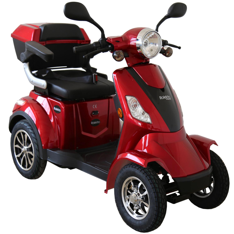 Rolektro, E-Quad 25, Farbe Rot, 1000 Watt / 60V 20 AH
