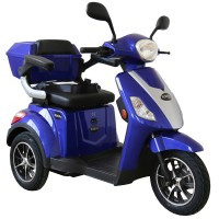 Rolektro, E-Trike 25 V.2, Farbe Blau, 1000 Watt / 60 V