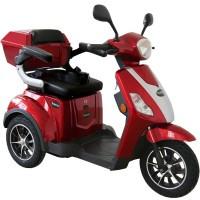 Rolektro, E-Trike 25 V.2, Farbe Rot, 1000 Watt / 60 V