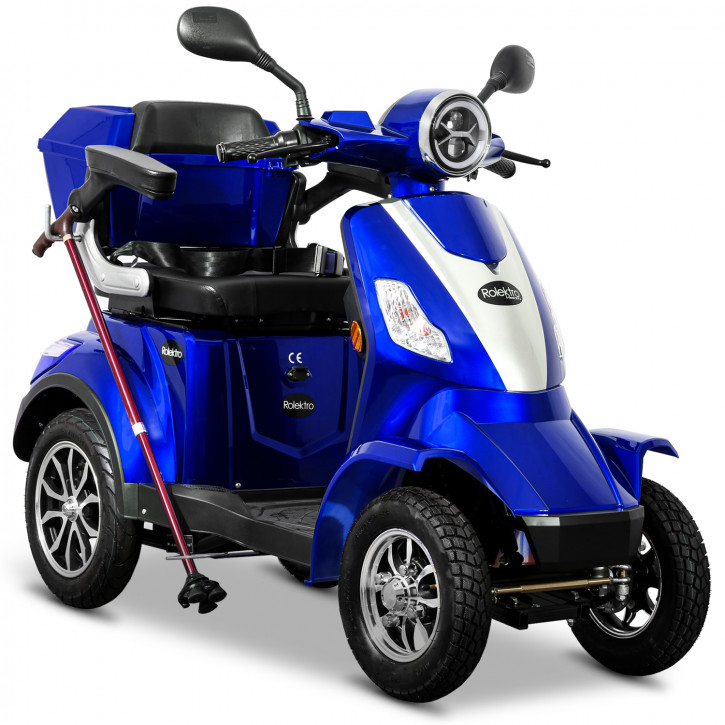 Rolektro E-Quad 25 V2 Blau