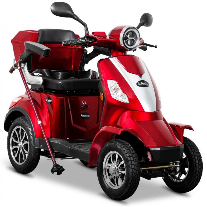 Rolektro E-Quad 25 V2 Rot
