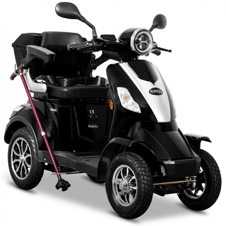 Rolektro E-Quad 25 V2 Schwarz
