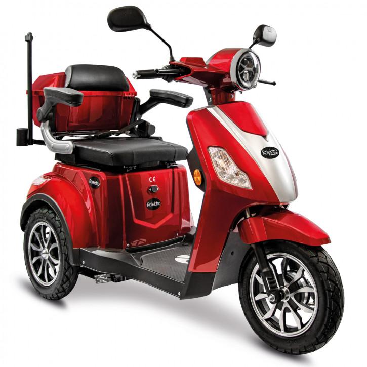 Rolektro E-Trike 25 V.3 Rot Modell 2021