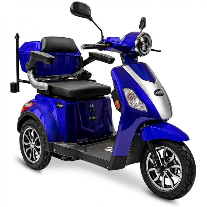 Rolektro E-Trike 25 V.3 Blau Modell 2021