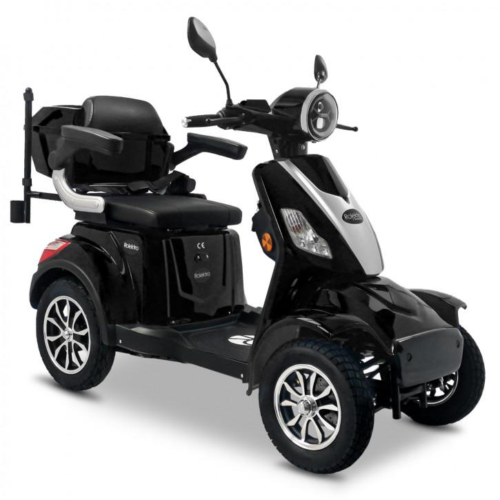 Rolektro E-Quad 25 V.3 Schwarz <br>Modell 2021