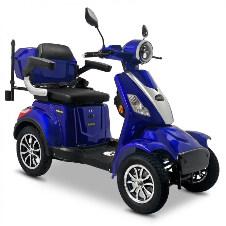 Rolektro E-Quad 25 V.3 Blau <br>Modell 2021