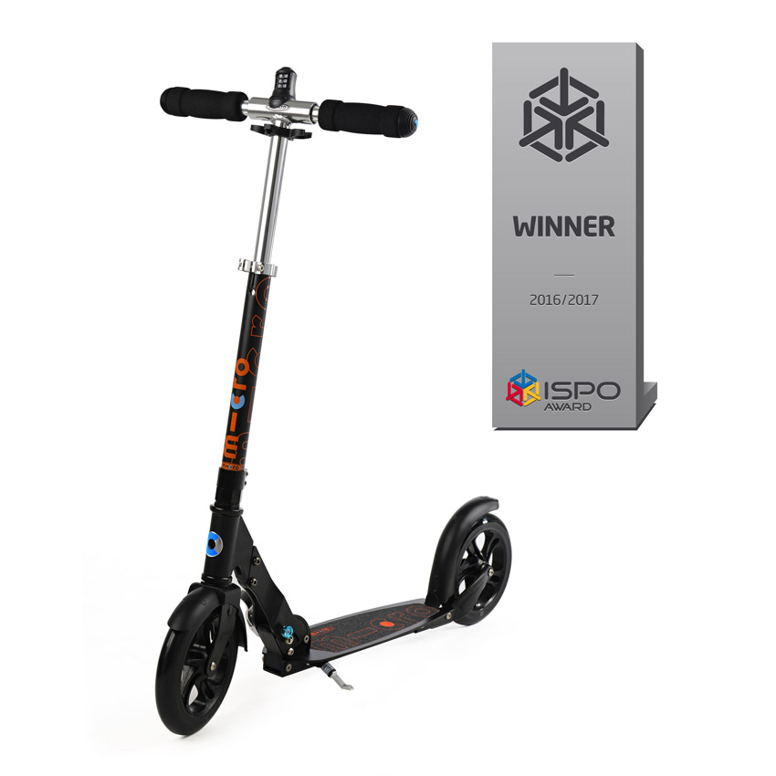 Micro Scooter black interlock Zahlenschloss Modell 2020