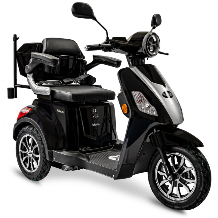 Rolektro E-Trike 25 V.3 schwarz Modell 2021
